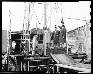 Primary view of object titled 'Men With Oil Equipment in Oklahoma'.