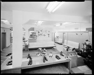 Primary view of object titled 'Shoe Department of B&M Clothing Store'.