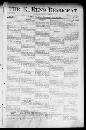 The El Reno Democrat. (El Reno, Okla. Terr.), Vol. 7, No. 35, Ed. 1 Thursday, September 26, 1901