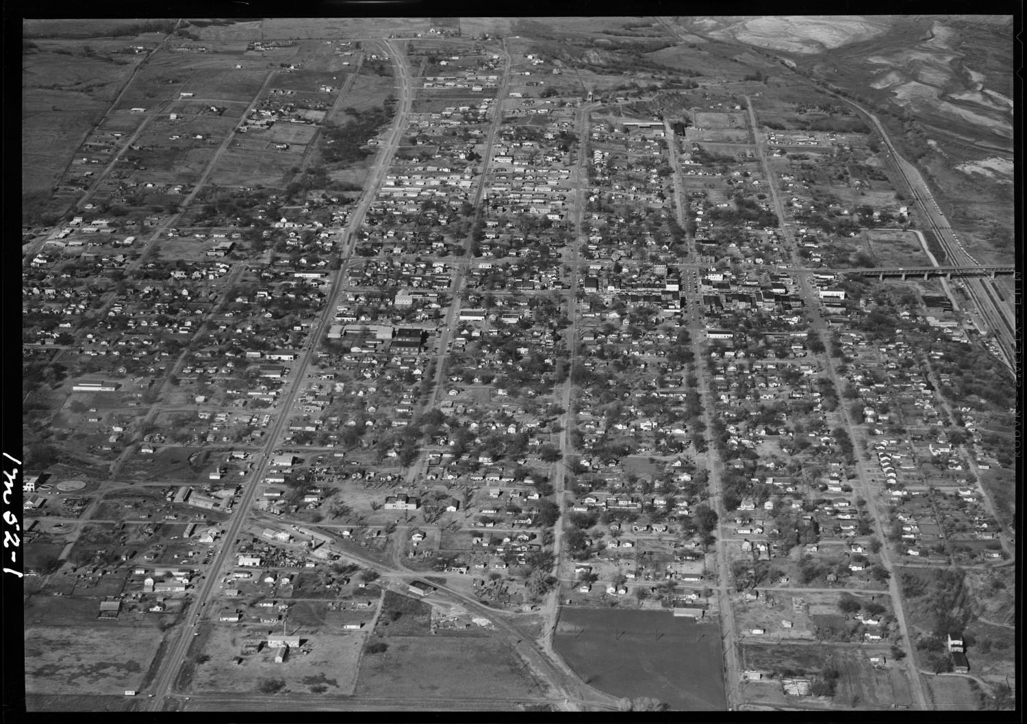 Aerial View of Purcell, Oklahoma                                                                                                      [Sequence #]: 1 of 1
