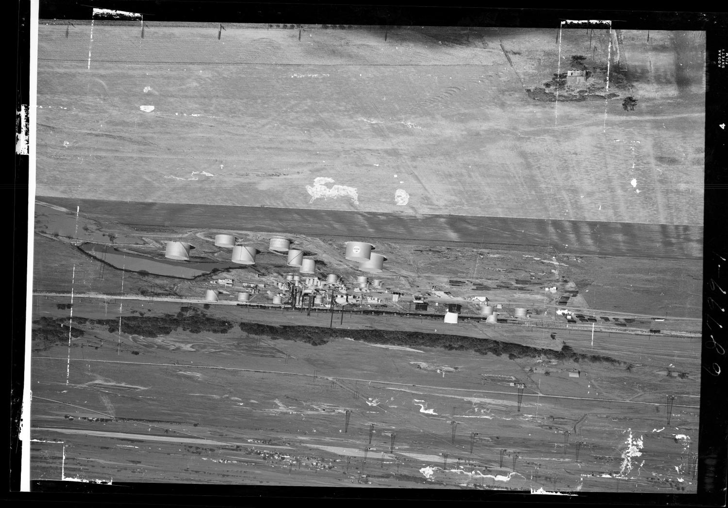 Aerial View of Mercury Oil Company in Oklahoma                                                                                                      [Sequence #]: 1 of 1