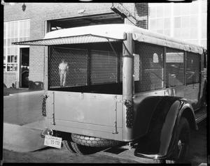 Primary view of object titled 'A Bus-Like Vehicle for Fred Jones Ford in Oklahoma City, Oklahoma'.