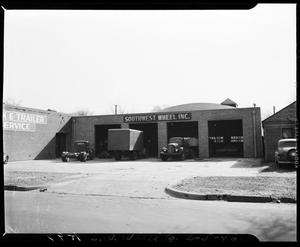 Primary view of object titled 'Southwest Wheel Company in Oklahoma City, Oklahoma'.