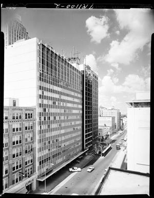 Primary view of object titled 'NW 2nd Street in Oklahoma City, Oklahoma'.