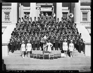Primary view of object titled 'Central High School Band'.