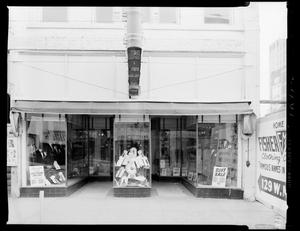 Primary view of object titled 'Fisher-Michel Clothing Co.'.