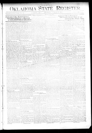 Primary view of object titled 'Oklahoma State Register. (Guthrie, Okla.), Vol. 18, No. 2, Ed. 1 Thursday, March 25, 1909'.