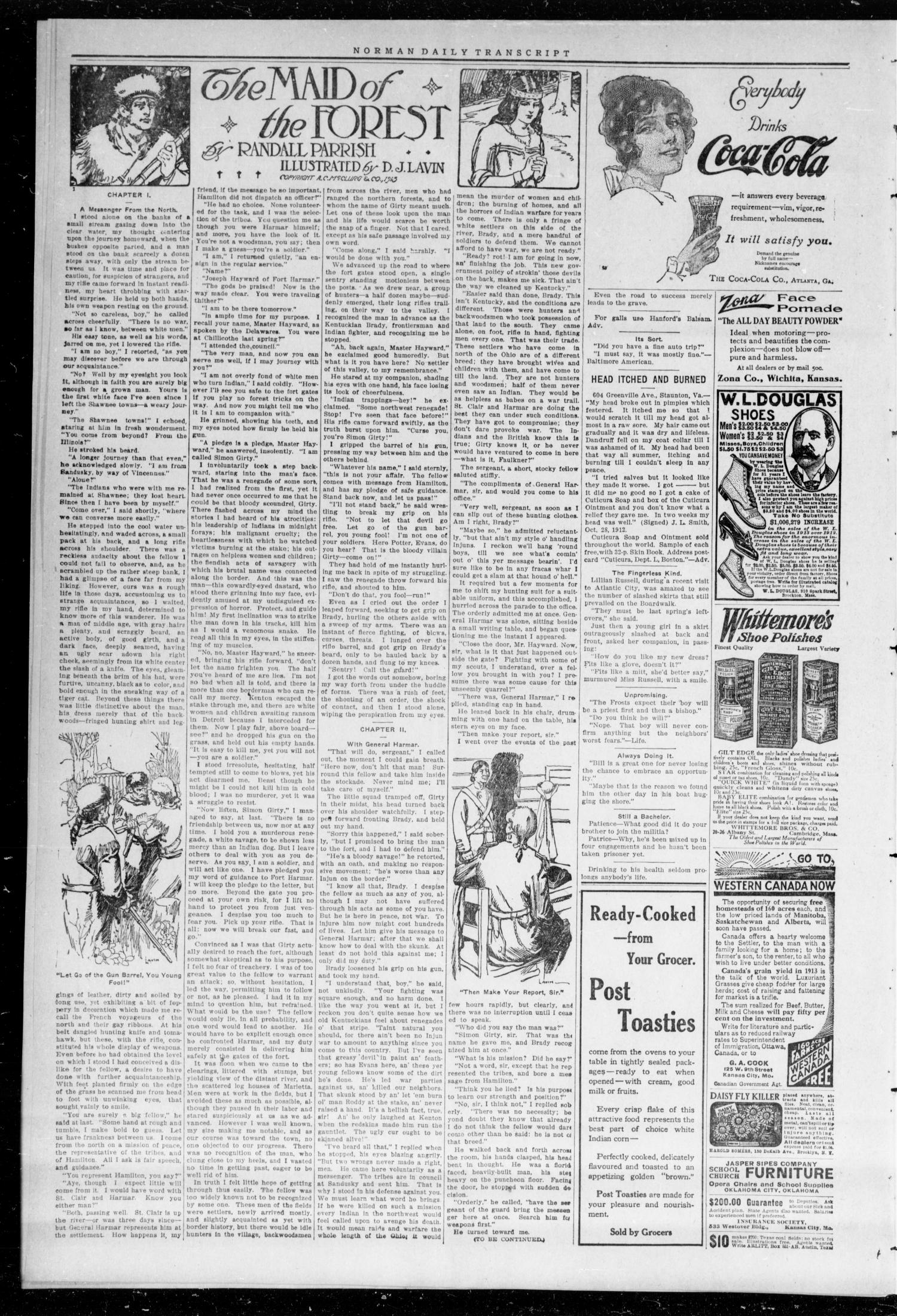 The Daily Transcript  (Norman, Okla.), Vol. 1, No. 276, Ed. 1 Monday, June 22, 1914                                                                                                      [Sequence #]: 2 of 4