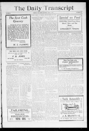 The Daily Transcript  (Norman, Okla.), Vol. 2, No. 121, Ed. 1 Tuesday, November 3, 1914