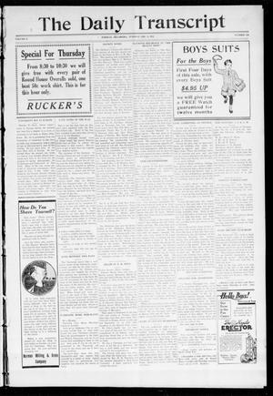 Primary view of object titled 'The Daily Transcript  (Norman, Okla.), Vol. 2, No. 146, Ed. 1 Tuesday, December 8, 1914'.