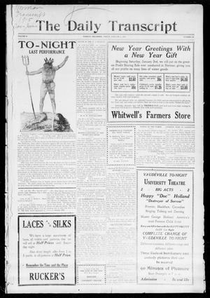 The Daily Transcript  (Norman, Okla.), Vol. 2, No. 162, Ed. 1 Friday, January 1, 1915