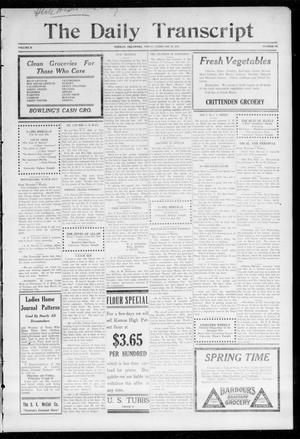 The Daily Transcript  (Norman, Okla.), Vol. 2, No. 187, Ed. 1 Friday, February 19, 1915