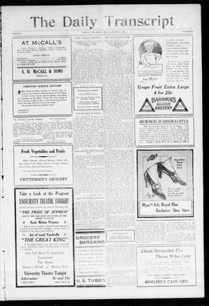 The Daily Transcript  (Norman, Okla.), Vol. 2, No. 212, Ed. 1 Friday, March 26, 1915