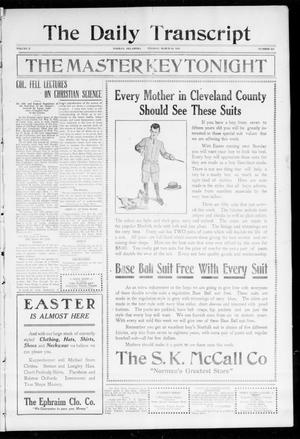 The Daily Transcript  (Norman, Okla.), Vol. 2, No. 215, Ed. 1 Tuesday, March 30, 1915