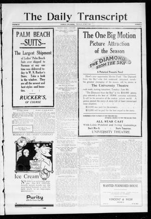 The Daily Transcript  (Norman, Okla.), Vol. 1, No. 4, Ed. 1 Monday, June 7, 1915
