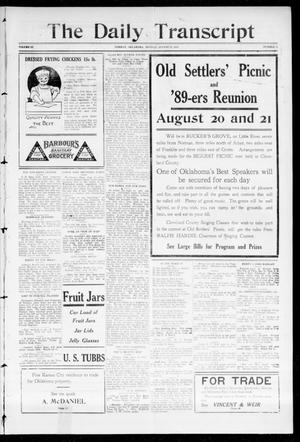 The Daily Transcript  (Norman, Okla.), Vol. 3, No. 54, Ed. 1 Sunday, August 15, 1915