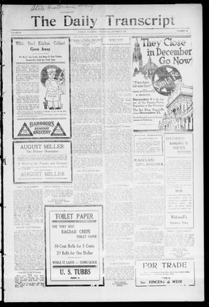 The Daily Transcript  (Norman, Okla.), Vol. 3, No. 102, Ed. 1 Wednesday, October 27, 1915