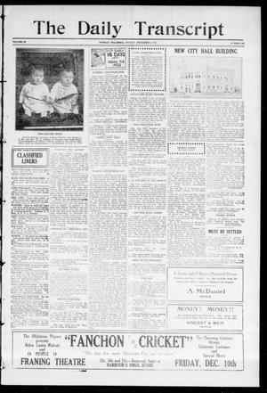 The Daily Transcript  (Norman, Okla.), Vol. 3, No. 129, Ed. 1 Tuesday, December 7, 1915