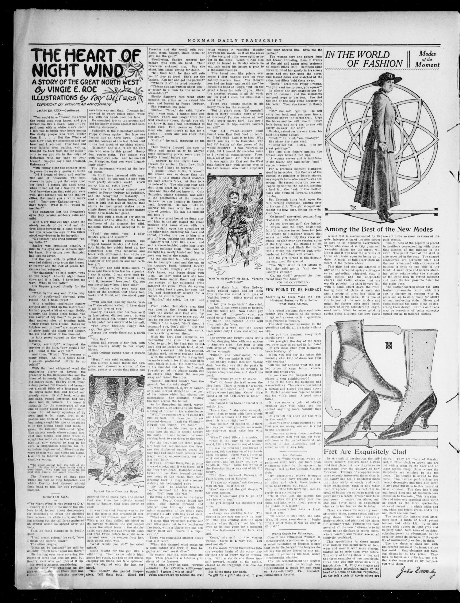 The Daily Transcript  (Norman, Okla.), Vol. 3, No. 215, Ed. 1 Wednesday, April 5, 1916                                                                                                      [Sequence #]: 2 of 4