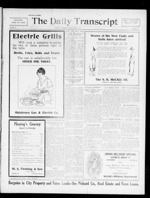 The Daily Transcript  (Norman, Okla.), Vol. 4, No. 202, Ed. 1 Friday, March 9, 1917