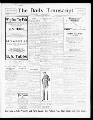 Primary view of object titled 'The Daily Transcript  (Norman, Okla.), Vol. 4, No. 225, Ed. 1 Tuesday, April 10, 1917'.