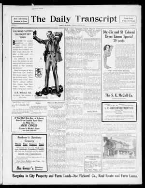 The Daily Transcript  (Norman, Okla.), Vol. 5, No. 14, Ed. 1 Tuesday, June 19, 1917