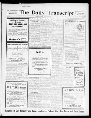 Primary view of object titled 'The Daily Transcript  (Norman, Okla.), Vol. 5, No. 16, Ed. 1 Friday, June 22, 1917'.