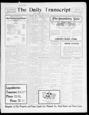 The Daily Transcript  (Norman, Okla.), Vol. 5, No. 18, Ed. 1 Monday, June 25, 1917