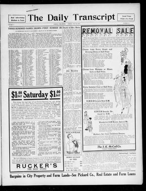 The Daily Transcript  (Norman, Okla.), Vol. 5, No. 53, Ed. 1 Friday, July 20, 1917