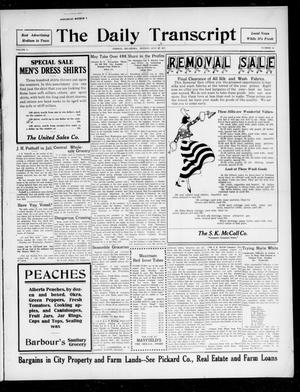 The Daily Transcript  (Norman, Okla.), Vol. 5, No. 55, Ed. 1 Sunday, July 22, 1917