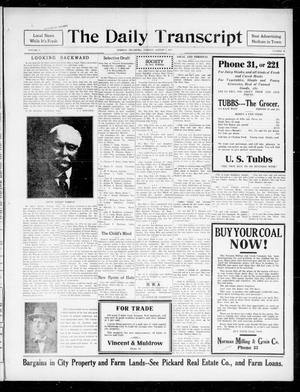 The Daily Transcript  (Norman, Okla.), Vol. 5, No. 66, Ed. 1 Tuesday, August 7, 1917