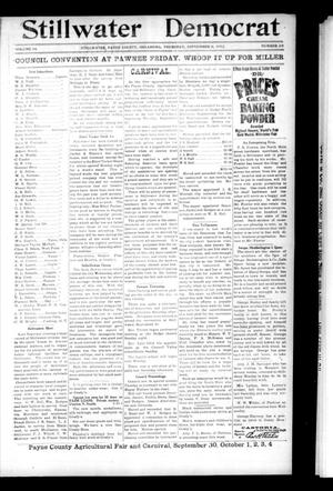 Primary view of object titled 'Stillwater Democrat (Stillwater, Okla.), Vol. 14, No. 28, Ed. 1 Thursday, September 11, 1902'.