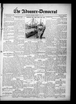 Primary view of object titled 'The Advance--Democrat (Stillwater, Okla.), Vol. 23, No. 22, Ed. 1 Thursday, January 28, 1915'.