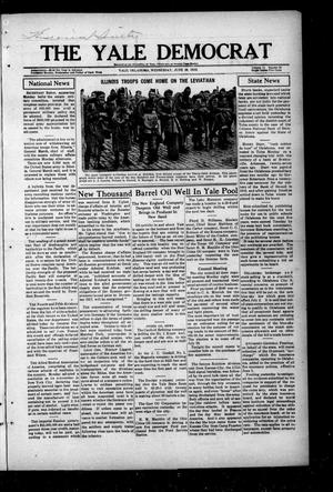 Primary view of The Yale Democrat (Yale, Okla.), Vol. 11, No. 69, Ed. 1 Wednesday, June 18, 1919