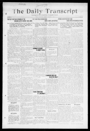 Primary view of object titled 'The Daily Transcript  (Norman, Okla.), Vol. 5, No. 202, Ed. 1 Friday, February 1, 1918'.