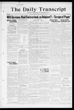 The Daily Transcript  (Norman, Okla.), Vol. 5, No. 212, Ed. 1 Wednesday, February 13, 1918