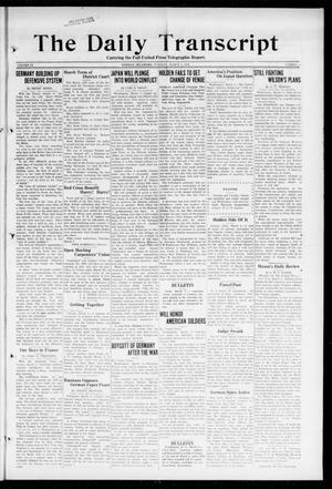Primary view of object titled 'The Daily Transcript  (Norman, Okla.), Vol. 6, No. 4, Ed. 1 Tuesday, March 5, 1918'.