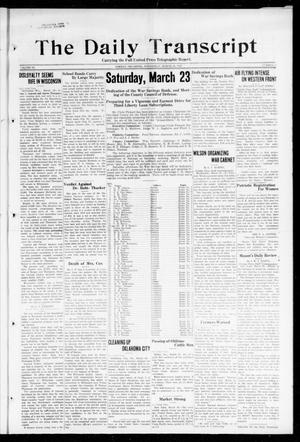The Daily Transcript  (Norman, Okla.), Vol. 6, No. 17, Ed. 1 Wednesday, March 20, 1918