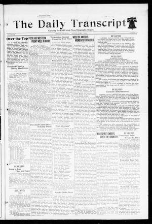 The Daily Transcript  (Norman, Okla.), Vol. 6, No. 32, Ed. 1 Monday, April 8, 1918