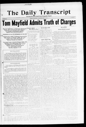 The Daily Transcript  (Norman, Okla.), Vol. 6, No. 28, Ed. 1 Thursday, April 25, 1918