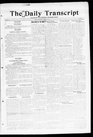 Primary view of object titled 'The Daily Transcript  (Norman, Okla.), Vol. 6, No. 29, Ed. 1 Friday, April 26, 1918'.