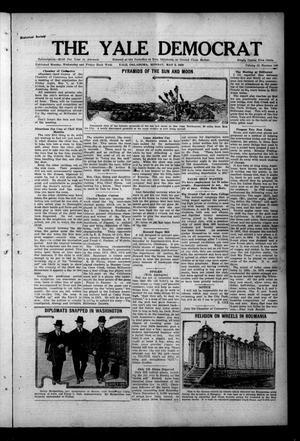 Primary view of object titled 'The Yale Democrat (Yale, Okla.), Vol. 12, No. 106, Ed. 1 Monday, May 3, 1920'.