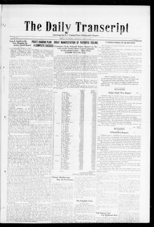 The Daily Transcript  (Norman, Okla.), Vol. 6, No. 40, Ed. 1 Thursday, May 9, 1918