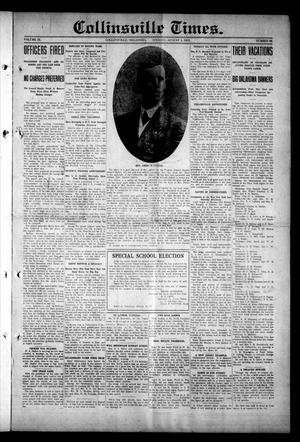 Primary view of object titled 'Collinsville Times. (Collinsville, Okla.), Vol. 9, No. 89, Ed. 1 Tuesday, August 5, 1913'.