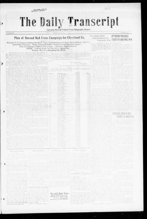 Primary view of object titled 'The Daily Transcript  (Norman, Okla.), Vol. 6, No. 42, Ed. 1 Monday, May 13, 1918'.