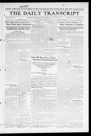 The Daily Transcript  (Norman, Okla.), Vol. 6, No. 60, Ed. 1 Monday, June 3, 1918