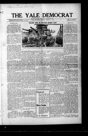 Primary view of The Yale Democrat (Yale, Okla.), Vol. 11, No. 92, Ed. 1 Monday, August 11, 1919