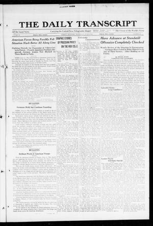 The Daily Transcript  (Norman, Okla.), Vol. 6, No. 62, Ed. 1 Wednesday, June 5, 1918