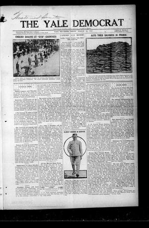 Primary view of object titled 'The Yale Democrat (Yale, Okla.), Vol. 12, No. 2, Ed. 1 Friday, August 29, 1919'.