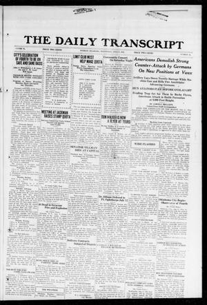 The Daily Transcript  (Norman, Okla.), Vol. 6, No. 86, Ed. 1 Wednesday, July 3, 1918